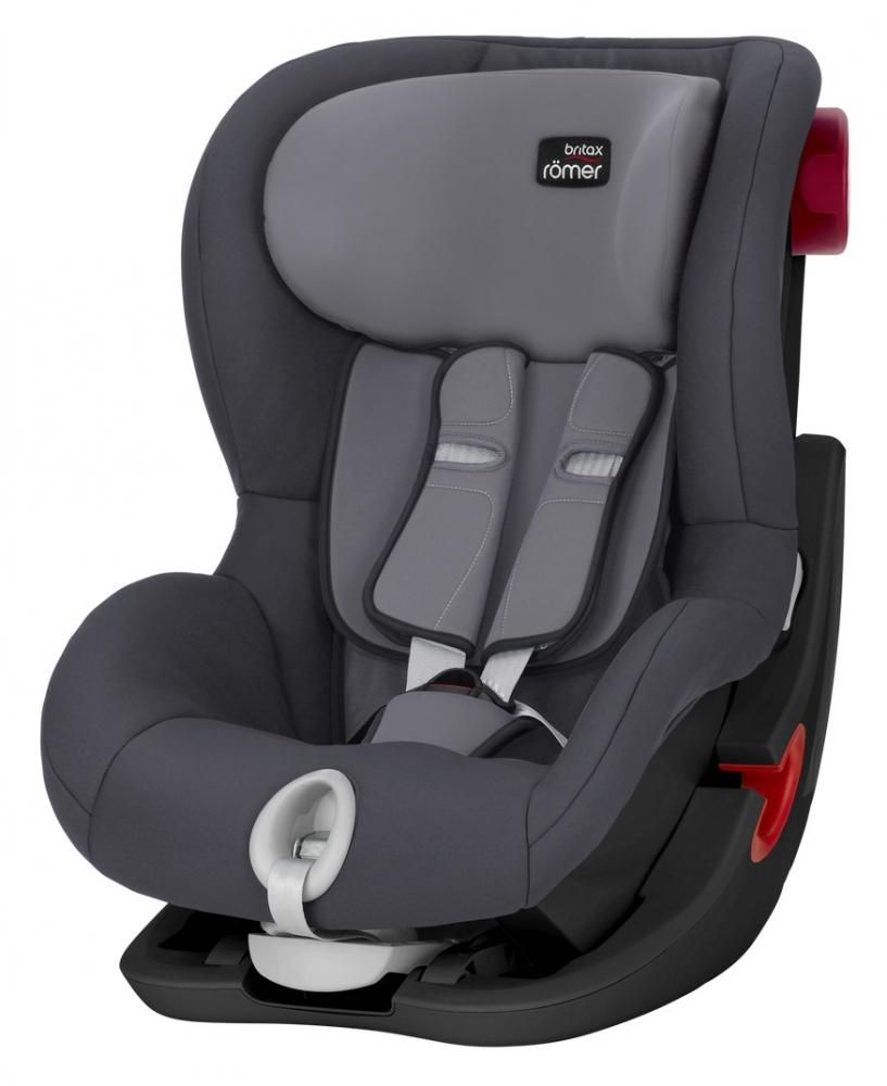 Автокресло Britax Römer King II Black Series Storm Grey Trendline в Усть-Каменогорске