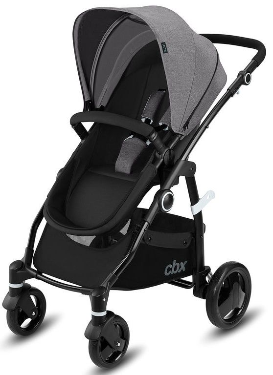 Коляска 2в1 CBX by Cybex Leotie Pure Comfy Grey в Усть-Каменогорске