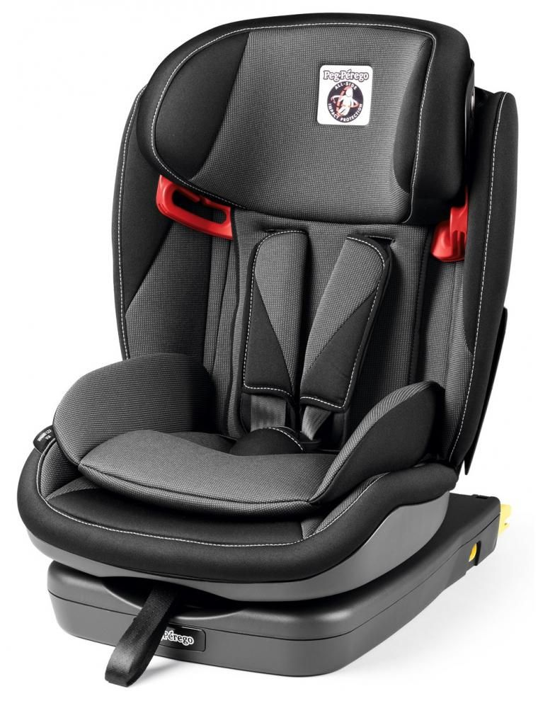 Автокресло Peg-Perego Viaggio 1-2-3 Via Crystal Black в Усть-Каменогорске