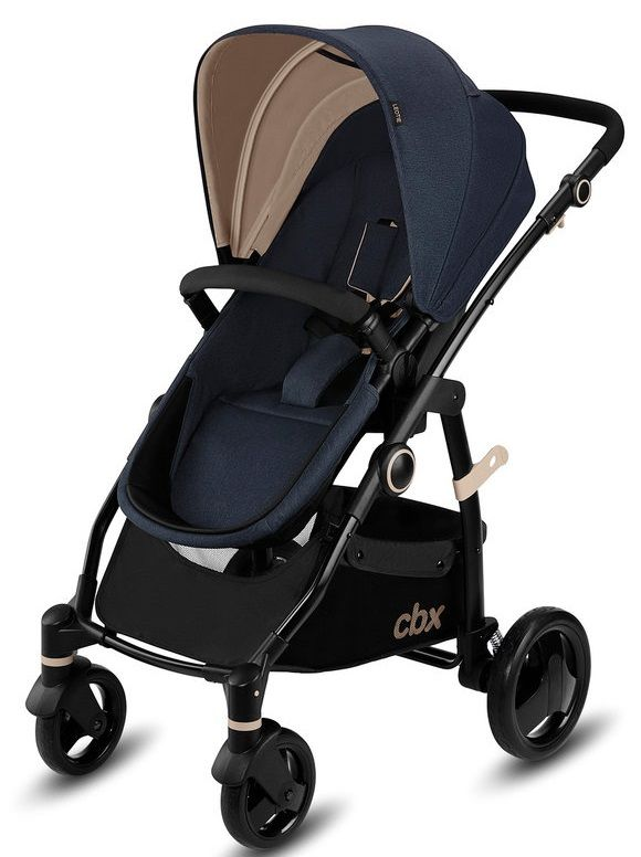 Коляска 2в1 CBX by Cybex Leotie Pure Jeansy Blue в Усть-Каменогорске