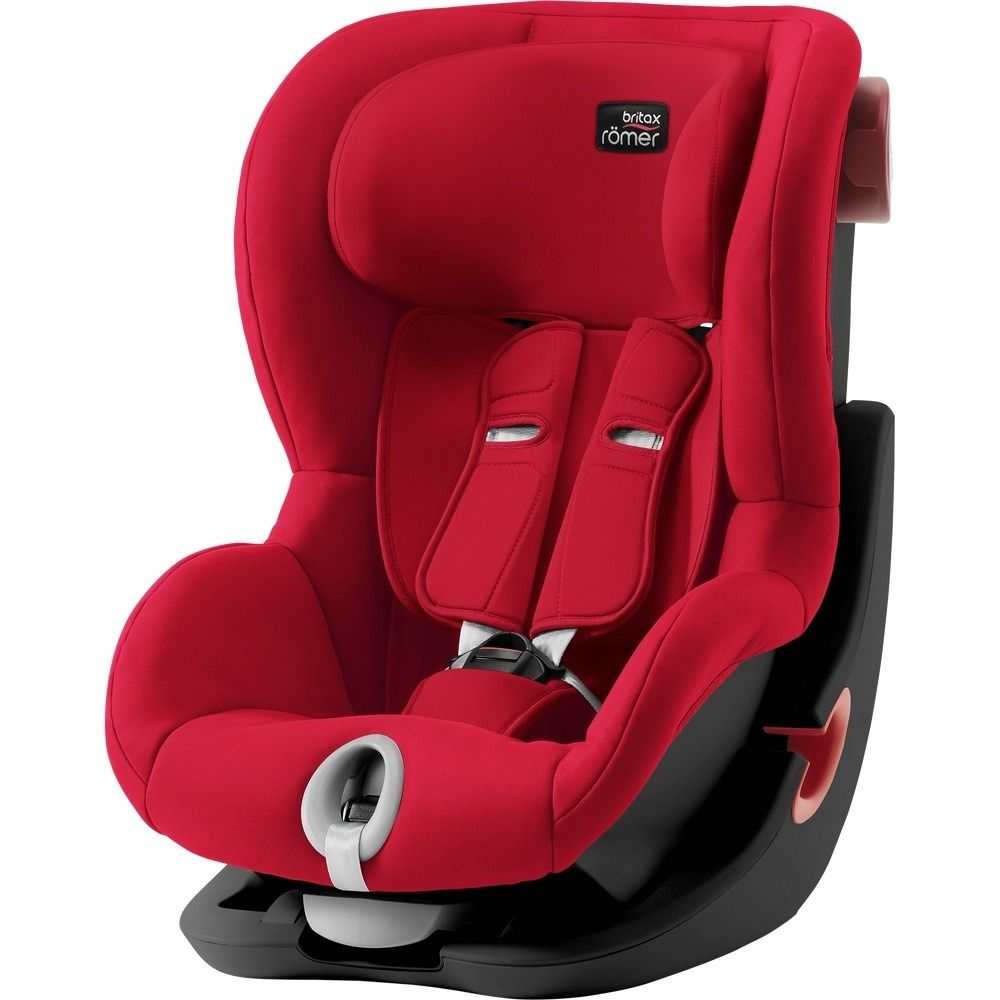 Автокресло Britax Römer King II Black Series Fire Red Trendline в Усть-Каменогорске