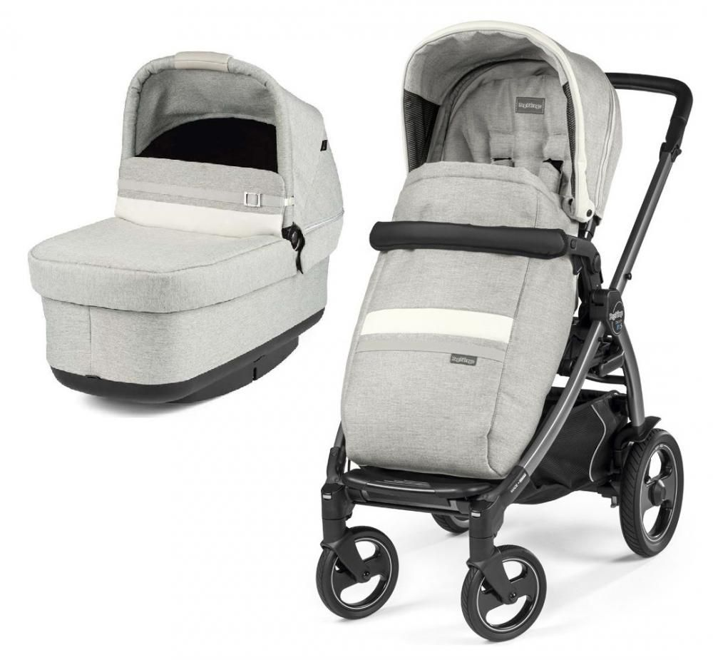 Коляска 2в1 Peg-Perego Book 51S Titania Pop Up Modular Lux Pure в Усть-Каменогорске