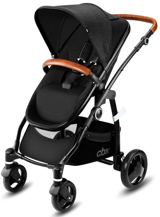 Коляска 2в1 CBX by Cybex Leotie Lux Smoky Anthracite в Усть-Каменогорске