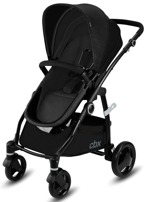 Коляска 2в1 CBX by Cybex Leotie Pure Smoky Anthracite в Усть-Каменогорске