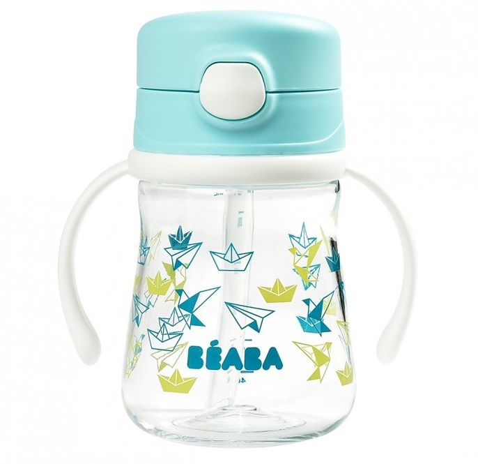 Поильник Beaba Tasse Paille 240ml Light Blue в Усть-Каменогорске